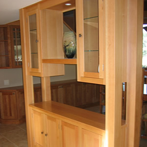 Custom Cabinetry and Shelving